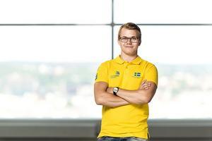 Patrik Eriksson från Vansbro tog brons på Yrkes-EM i Göteborg.