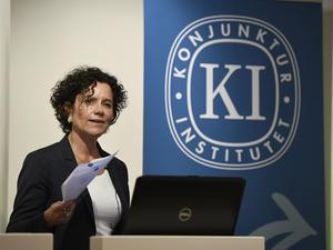 KI:s prognoschef Ylva Hedén Westerdahl.