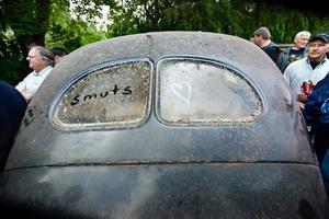 Putsbehov. De allra flesta bilar som såldes behövde inget tydligt påpekande om läget ...