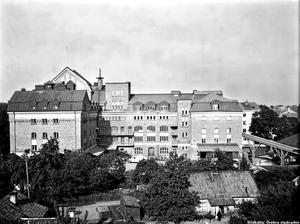 Örebro kvarn 1944. Bilden är lånad från Örebro stadsarkiv.