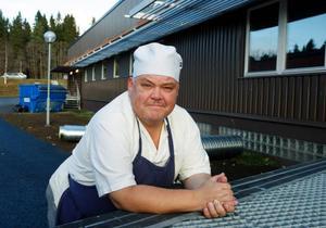 """""""Gamla Warnershuset på Frösön kommer att sjuda av liv nästa år"""", säger Christer Karlsson på Mr Sushi, som är en av företagarna som ska flytta dit vid årsskiftet. Foto: Jan Andersson"""
