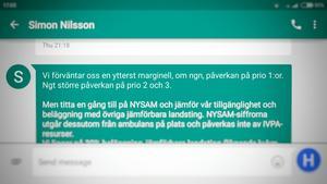 Förra veckan gav nuvarande verksamhetschefen för ambulanssjukvården i Gävleborg, Simon Nilsson, beskedet att sommarens nedbemanning på ambulansstationerna kan få effekt på beredskapen – föramför allt för Prio 2- och 3-ärenden.