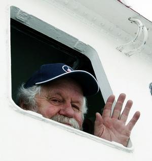 Helge Nilsson är på väg att lämna livet som skeppare på isbrytaren även om han tror att han kommer att sakna jobbet.