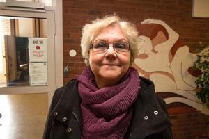 Mona Forsberg var nöjd med att ha lyckats få Yngve Gustafson till Hedemora.