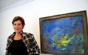 Energi heter konstverket som tillhör en av Margareta Breitholz-Nash senaste verk. FOTO: LISA LINDER LINDBERG