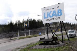 Två arbetare omkom förra veckan i en olycka i Vitåforsgruvan i Malmberget.Foto: scanpix