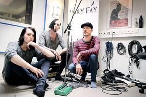 På lördag kommer emorockbandet Mary Fay att fokusera på sitt nya material. Bandet tänker spela hela sin senaste EP och alla låtar som gruppen gjort video till. Foto: Jennie-Lie Kjörnsberg
