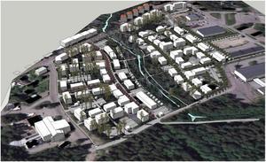 I de östra delarna av Dalregementsområdet/Övre Norslund planeras ett nytt bostadsområde. Planförslaget ger möjlighet att bygga 350 nya bostäder i området. Småskalig flerbostadshusbebyggelse ska blandas med inslag av rad- och kedjehus.
