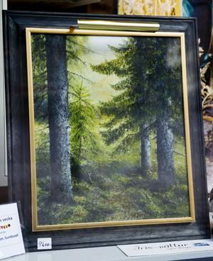 Skogsmotiv av Iris Persson.