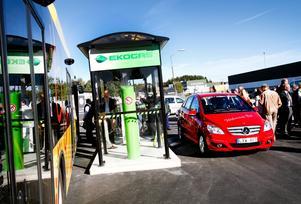 Den så kallade biogasmacken har snart funnits i Sörby urfjäll i ett halvår.