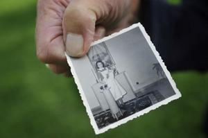 På femtiotalet döptes många barn i dagrummet på BB.