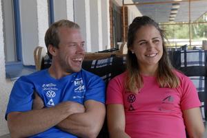 Den här sommarbilden på paret Jönsson/Haag är från 2014.