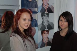 Felicia Päätalo och Maria Jonsson från Djurås vill att Justin Bieber ska komma och spela antingen Leksand, Falun eller Borlänge.