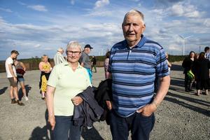 Två stycken som är för vindkraft är Ramseleborna Gerd och Jörgen Hägesten.