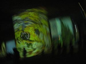 En målning av Vincent van Gogh ingår i showen.