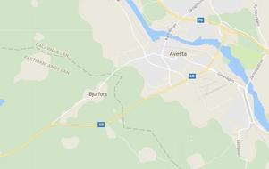 Byn Bjurfors ligger bara några hundra meter ifrån Dalagränsen.