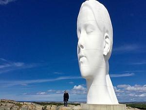 Jaume Plensas skulptur
