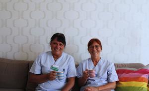 Eva Larson och Lena Andersson har jobbat på ungdomsmottagningen i flera år.