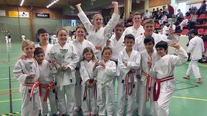 Fagersta karateklubb lyckades bra i Gävle.