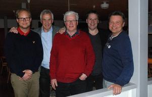 Andreas Mossberg, samhällsbyggnadschef i Säter, Curt Lundmark, Dala & Co, Bernt Lindstenz, ordförande i Säters Folkets hus - styrelse, Leif