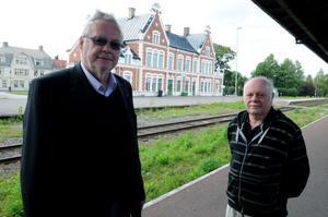 Både Per-Anders Westhed och Gunnar Magnusson är riktigt optimistiska om att Inlandsbanan ska öppnas igen mellan Mora och Kristinehamn.