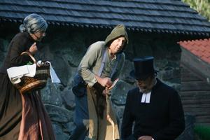 Flera historiska figurer dyker upp i Bodarnespelet.