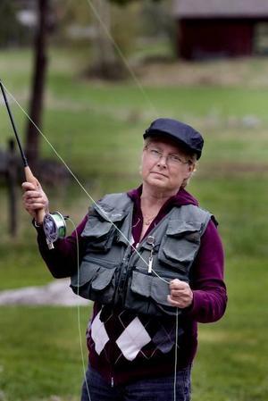 VM-DELTAGARE. Om en månad deltar Inger Svedvall från Sandviken i flugfiske-VM i Skottland. Till vardags arbetar hon som trädgårdsmästare, vilket har visat sig vara en lyckad kombination. När grundaren av fiskemärket Sameo behövde trädgårdstips skickade Inger ett äppelträd och lite instruktioner till honom och fick ett spö tillbaka.