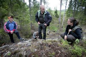 Beundrade handkraften. I Grytängsbodarna hittade gruvfruarna inget av värde trots att man för 150 år sedan trodde på något inne i berget.