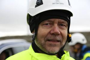Jan-Olof Dahlin, med förflutet som miljöpartistisk politiker, har varit projektledare för bygget av Glötesvålen.