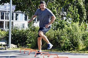 Victor Hedman tränar ett fem pass i veckan med Hans Jonsson.