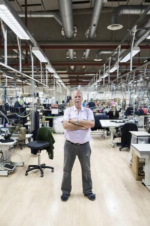 Leif Lindqvist har jobbat på samma arbetsplats och haft samma arbetsuppgift sedan 1970 då han som 20-åring sökte jobb på dåvarande Vinetta.