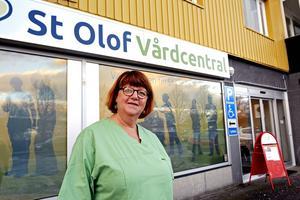 Gun-Inger Soleymanpur är verksamhetschef vid St Olofs vårdcentral som ökat mest i år.