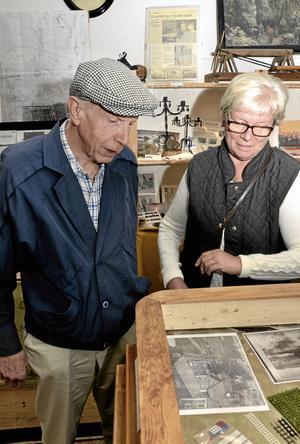 –  I det där huset bodde vi 1947, berättar Börje Allansson.