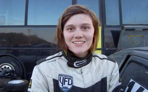 Jessica Persson, Hede, folkraceförare som sedan i år även satsar på rally.