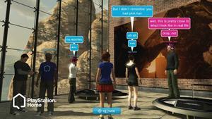 hej hej. Playstation Home är först och främst en mötesplats för spelare.