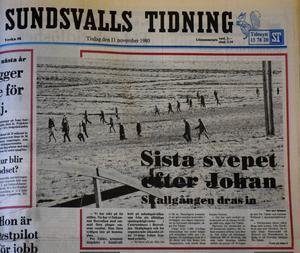 Artikel som publicerad i Sundsvalls Tidning den 11 november 1980.