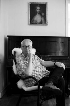 Björn Elmbrant, författare, ledarskribent och samhällsdebattör.