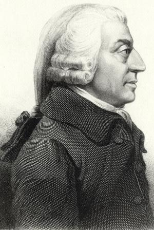 James Tassies porträtt av Adam Smith från 1787.
