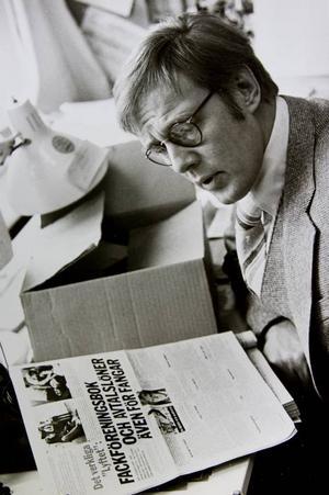 DYNAMISK OCH ÄKTA. Lasse Strömstedt blir ihågkommen som en rastlös men varm medmänniska, som gjorde stora insatser som författare och debattör.