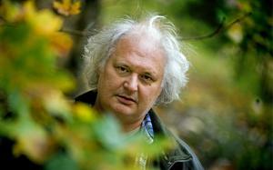 Göran Greider,  chefredaktör för tidningen Dala-Demokraten