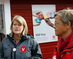 Nu går Ulla Andersson, Vänsterpartiets ekonomiska talesperson, ut med att hon kandiderar till partiledarposten.