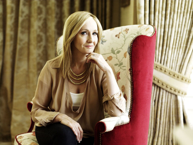 JK Rowling dating historia
