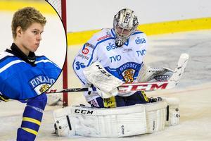 Atte Engren, finsk landslagsmeriterad målvakt, är Leksands IF:s senaste nyförvärv.