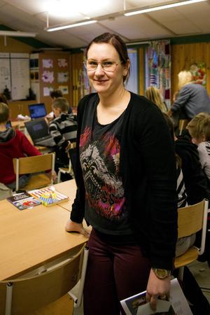Malin Pålsson är en av lärarna i de två fjärdeklasserna.