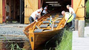 Båthus. Söderbärke kyrkbåtsförening har byggt ett båthus samt de två kyrkbåtarna Barkenbåten och Wallman. Söderbärke församling står som ägare av kyrkbåtarna och marken.