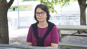 Sisko Laurila, vård- och omsorgslärare på Brinellskolan.