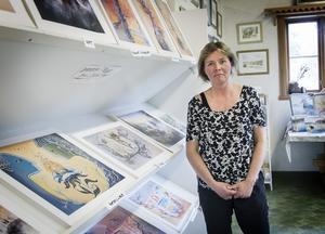 Katarina Byléhn är glad för varje år som de kan fortsätta dela ut Bror-Erics kulturstipenndium.
