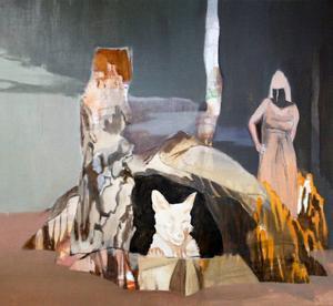 Död och utsatthet, men också hopp är ämnen som Pär Sångberg arbetar med i sina bilder.