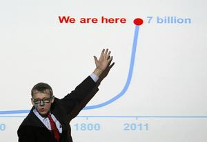 Professor Hans Rosling, folkbildare, föreläsare, professor, var sommarvärd 2005. Han återkommer som vintervärd för andra gången. ARKIVBILD.   Foto: Lefteris Pitarakis
