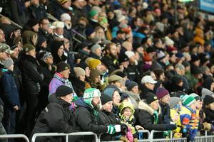 6 170 åskådare fanns på Zinkensdamm. Publikrekord för hemmalaget Tellus.